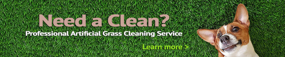 professional artificial grass cleaning service
