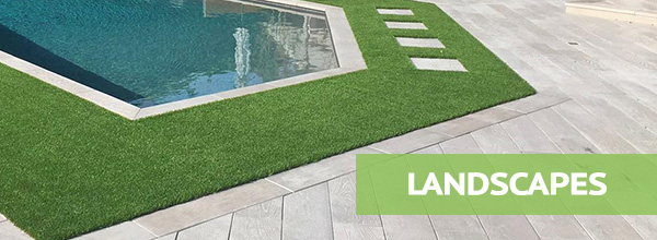 artificial grass landscapes